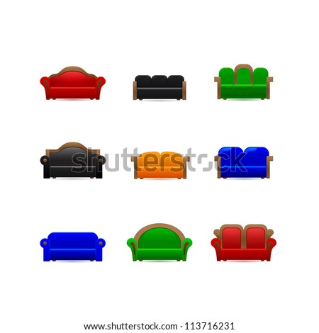 Gallery For > Sofa Icon