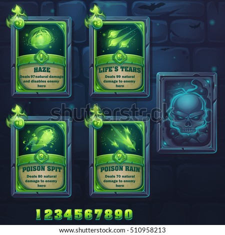 set spell cards of haze  life's
