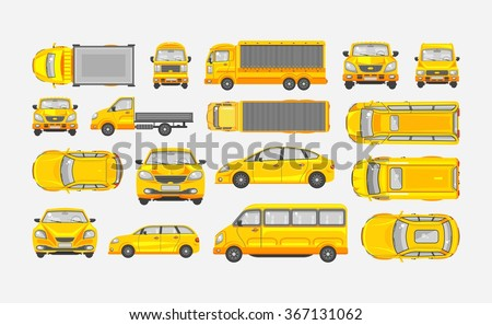 set stock vector illustration