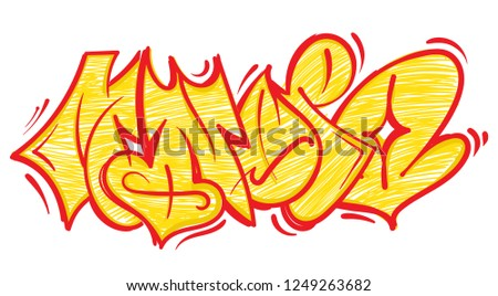 Vector Graffiti Urban Art Set Download Free Vector Art Stock