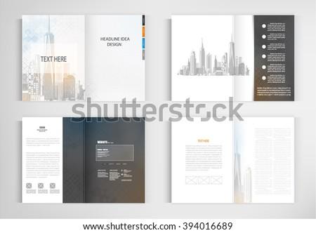 set templates for presentation