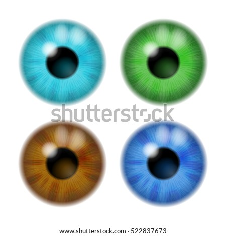 set the color of the eye lens
