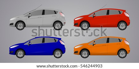 set the type of hatchback cars