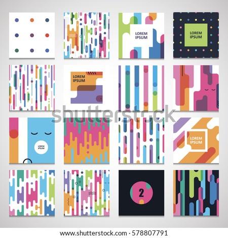set twelve seamless a pattern