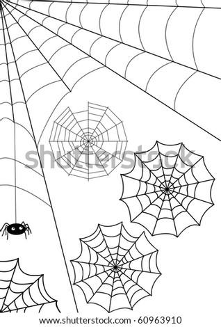 Set - vector webs