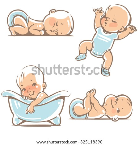 set with  cute baby boys 0 12...