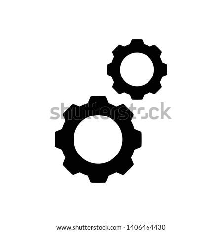 Setting Gear Vector Icon Design Template