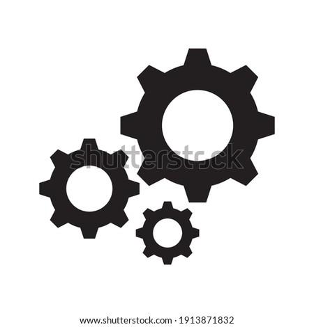 Setting Gear Vector Icon Design Template.Gear vector icon. Setting Gear Vector Icon. Setting Gear Vector Icon cogs symbol. EPS 10