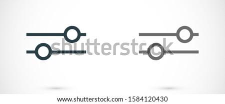 Settings  icon 10 eps , Lorem ipsum Flat design Gears Settings vector icon Cogwheel gear mechanism vector Settings vector icon Settings vector icon