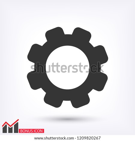 SETTINGS icon  vector 10 eps design