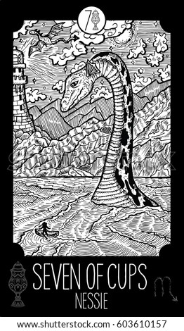 seven of cups loch ness