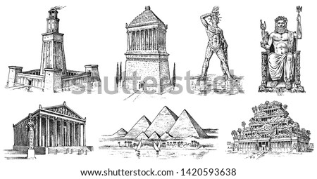 seven wonders of the ancient