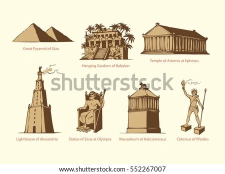 seven wonders of world pyramid
