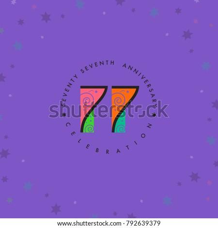seventy seven years  77th