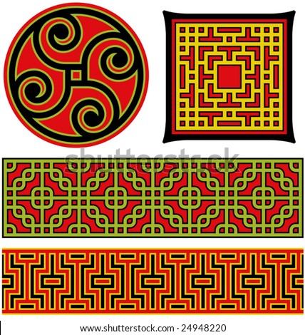 stock-vector-several-vector-illustrations-of-chinese-patterns-and-lattice-work-24948220.jpg