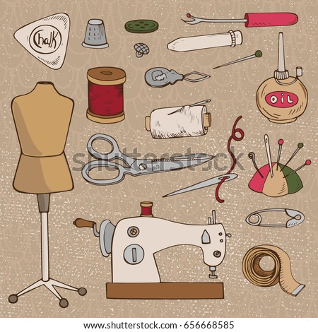 sewing accessories. set of...