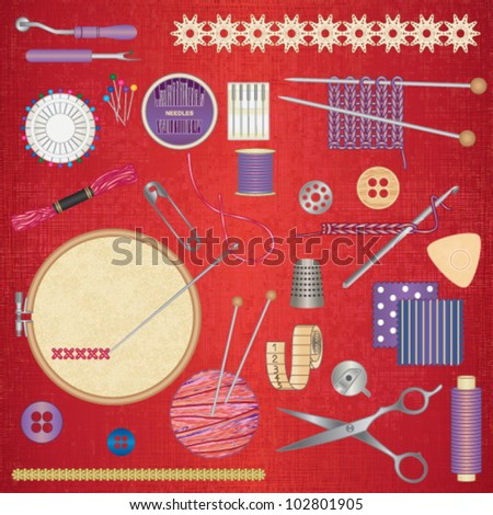 Sewing and needlework accessories 2