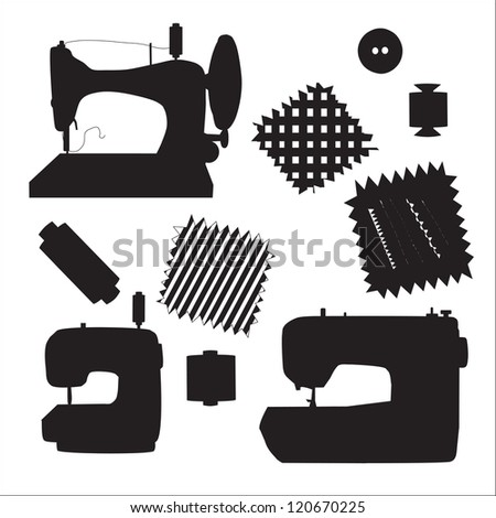sewing machines kit black