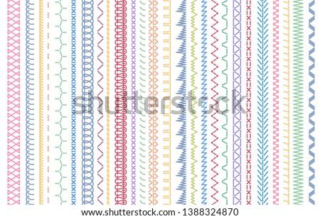 sewing seams patterns