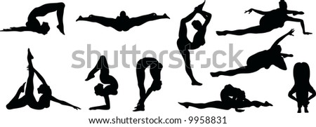 Sexy Flexible Silouettes