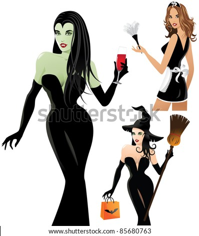 sexy halloween costumes a trio