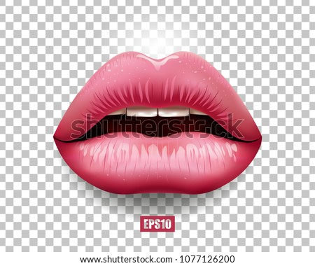 sexy lips  female lips with