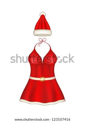 sexy santa clause costume