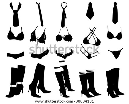 stock vector sexy women clothes 38834131 E cards free sexy Adult