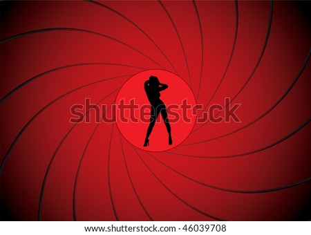sexy women dancing in a gun