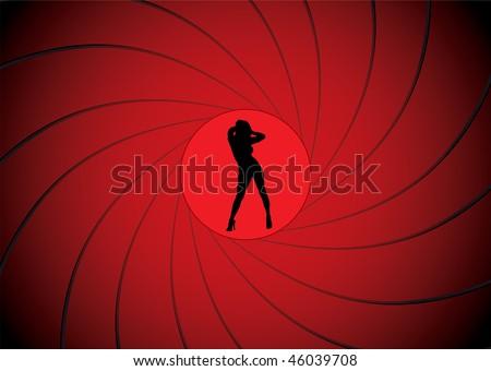 sexy women dancing in a gun