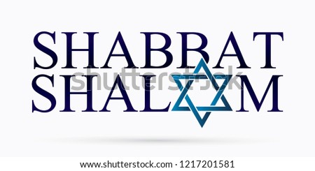 Shabbat Jewish Icon - Download Free Vectors, Clipart