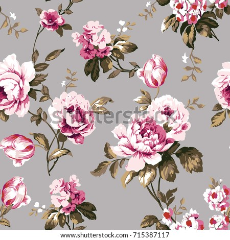 shabby chic vintage roses