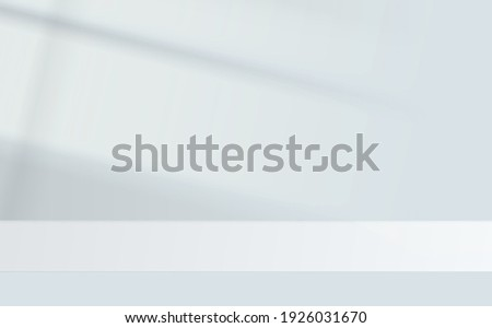 Shadow background overlays. Scenes of natural lighting. Transparent overlay shadow from the window. Natural light effects. Shadows soft overlay effects transparent on wall. Realistic vector