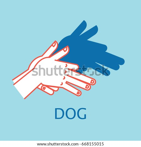 shadow theater hands gesture