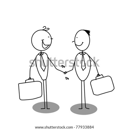shake a hand business