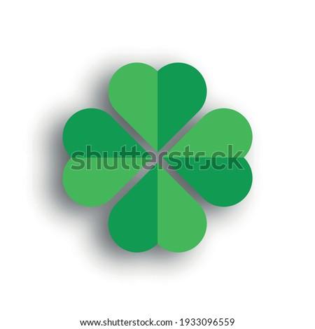 shamrock   green four leaf