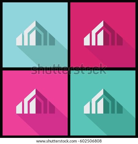 shape building company logo