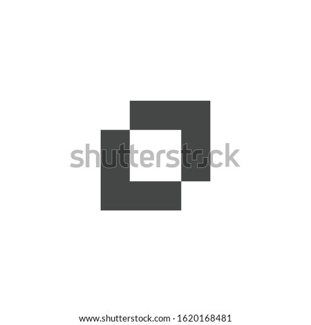 Shape combination icon isolated on white background. Pathfinder symbol modern, simple, vector, icon for website design, mobile app, ui. Vector Illustration Stock photo ©