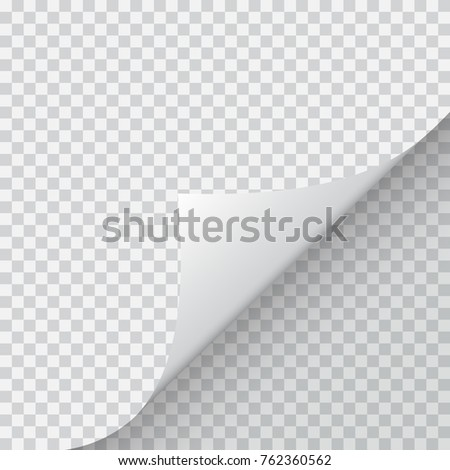 Shape of bent angle is free for filling. Vector Illustration. EPS10