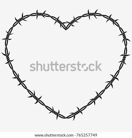 shape of heart vector