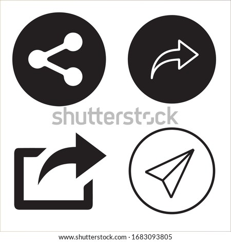 Share Design Logo, The Latest Logo Stockfoto ©