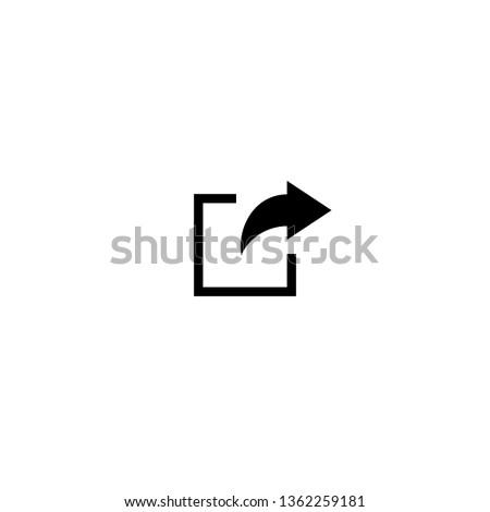 share icon. Share vector icon
