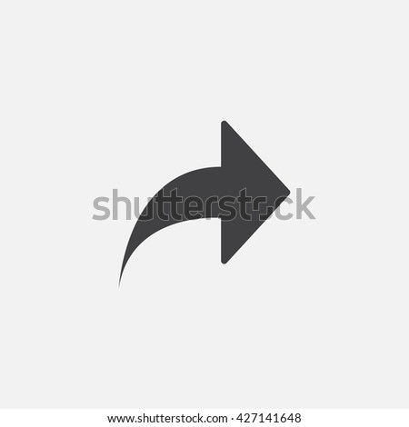 share icon vector, solid logo, pictogram isolated on white, pixel perfect illustration