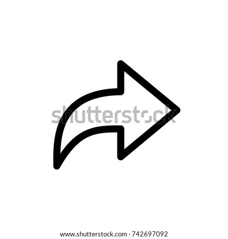 share line icon, share line icon vector, in trendy flat style isolated on white background. share line icon image, share line icon illustration