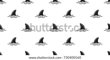 shark fin dolphin fin ocean