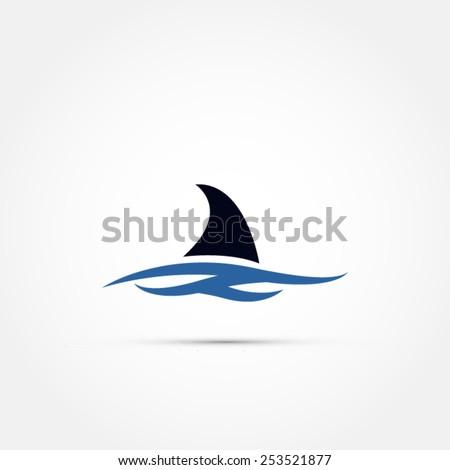 shark fin icon