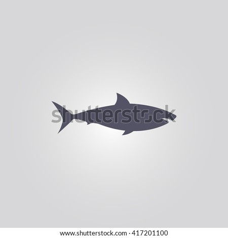 shark icon shark sign