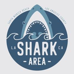 Shark illustration, typography, tee shirt graphics, vectors