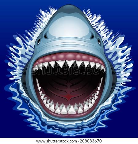shark jaws attack