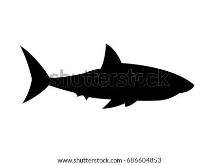 Shark silhouette